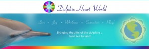 Dolphin Heart World logo